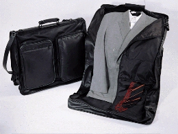 Leather travel suite bags